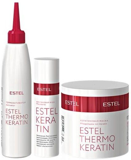 Кератиновая маска для волос estel keratin