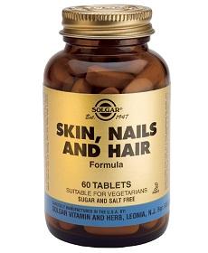 Витамины Солгар для волос, ногтей и кожи - комплексное воздействие