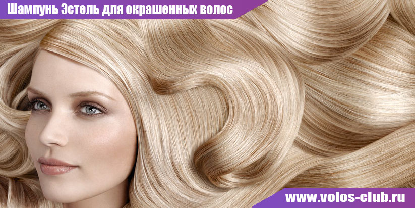Шампунь Эстель для окрашенных волос